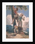 Boys Climbing a Tree by Francisco Jose de Goya y Lucientes