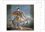 Equestrian Portrait of Philip III by Diego Rodriguez de Silva y Velazquez