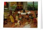 Hearing by Jan the Elder Brueghel