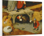 Detail from the central panel of Temptation of St. Anthony by Hieronymus Bosch