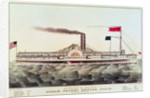 Buffalo & Chicago Steam Packet, Empire State by N. and Ives