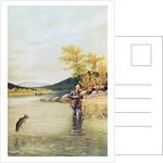 Trout Fisherman by Denton