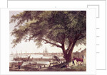 The City and Port of Philadelphia, on the River Delaware by American School