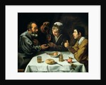 The Lunch by Diego Rodriguez de Silva y Velazquez
