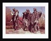 The Burghers of Calais by Auguste Rodin