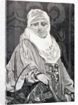'La Favorita'- Woman with a Veil by Jean Leon Gerome
