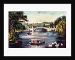Central Park - The Bridge by N. and Ives