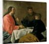 Supper at Emmaus by Diego Rodriguez de Silva y Velazquez