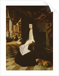 Portrait of Queen Mariana of Spain in Mourning by Juan Bautista Martinez del Mazo