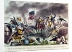 The Battle of New Orleans by N. and Ives
