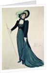Costume design for Tosca by Italian School