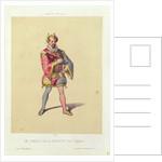 Rigoletto from 'Rigoletto' by Giuseppe Verdi 1885 by French School