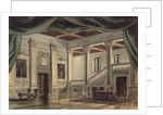 Set design for Act III of the opera 'Rigoletto' by Giuseppe Verdi by Italian School