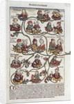 Genealogical tree of Laban by German School