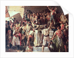 The Cry of the Palleter declaring was on Napoleon by Joaquin Sorolla y Bastida