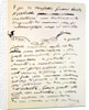 Letter by Giacomo Puccini