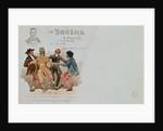 Commemorative Postcard of the opera 'La Boheme', by Giacomo Puccini by Italian School