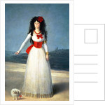 The Duchess of Alba by Francisco Jose de Goya y Lucientes