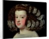The Infanta Maria Theresa, daughter of Philip IV of Spain by Diego Rodriguez de Silva y Velazquez