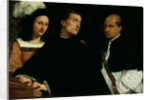 Interrupted Concert by Titian