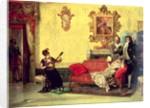 The Concert by Vincente Gonzalez Palmaroli