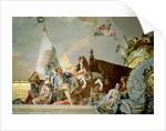 The Glory of Spain I by Giovanni Battista Tiepolo