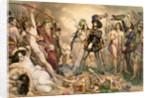 Conquest of Mexico: Hernando Cortes destroying his fleet at Vera Cruz by Nicholas Eustache Maurin