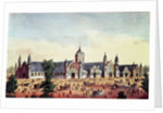Agricultural Hall, Grand United States Centennial Exhibition, Fairmount Park, Philadelphia by American School