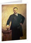 Portrait of Theodore Roosevelt by John Singer Sargent