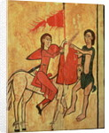St. Martin and the Beggar by Spanish School