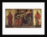 Maesta: Flight into Egypt by Duccio di Buoninsegna