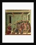 Maesta: Christ Washing the Disciples' Feet by Duccio di Buoninsegna