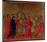 Maesta: The Road to Calvary by Duccio di Buoninsegna