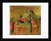 Maesta: The Burial of Christ by Duccio di Buoninsegna