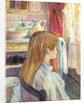 Woman at the Window by Henri de Toulouse-Lautrec
