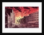 View of the Terrific Explosion at the Great Fire in New York by N. and Ives