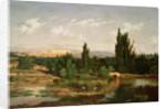 Countryside with a River, Manzanares by Carlos de Haes