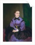Portrait of Mademoiselle Sicot by Pierre Auguste Renoir