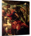 Battle between Turks and Christians, c.1588/89 by Jacopo Robusti Tintoretto