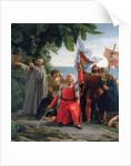 The First Landing of Christopher Columbus in America by Dioscoro Teofilo Puebla Tolin