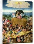 The Haywain: central panel of the triptych by Hieronymus Bosch