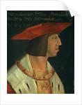 Portrait of Maximillian I by Spanish School