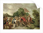 The Meeting of Abraham and Melchizedek by Frans II Francken