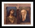 Christ and the Grieving Virgin by Hugo van der Goes