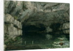 The Grotto of the Loue by Gustave Courbet