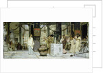 The Vintage Festival in Ancient Rome by Sir Lawrence Alma-Tadema