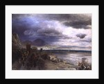 The Coast of Naples by Andreas Achenbach