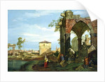 Capriccio with Motifs from Padua by Canaletto