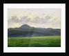 Mountainous landscape by Caspar David Friedrich