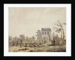 Landscape with a Pavilion by Caspar David Friedrich